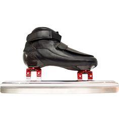 Short Track Set Speed Skates boots + Short Track Ice Speedskating Blades #SportDivision