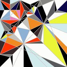 Sarah Morris love this Colored Geometry