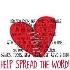 Support CHD Awareness ❤️