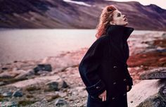Scandinavia SSAW Magazine and Frida Gustavsson team up again for another inspiring fashion moment. You may remember the previous edition of Scandinavia SSAW and its wholly unique covers featuring Frida – this time around the story takes on a fantastical element. Shot in the mountains of Norway by photography duo Boe Marion with creative direction by Jakob Hysén Hedberg and styling by Oscar Lange, the vibrant images pull you into a lush world that is rustic and refined at the same time.