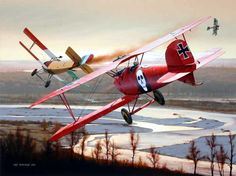 1917 Duel above the Piave