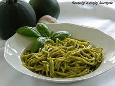RECEPTY Z MOJEJ KUCHYNE A ZÁHRADY: Cuketová omáčka na cestoviny Pesto, Spaghetti, Fit, Ethnic Recipes, Diets, Noodle