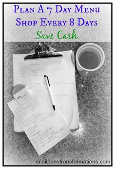 Great way to make room in your food budget for stocking up on good sales. grocery budgets