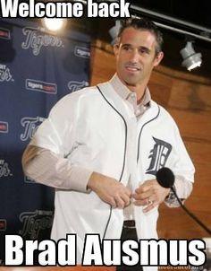Brad Ausmus named Detroit Tigers manager! #DetroitSports #Hot