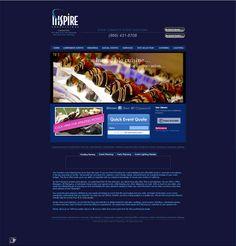 INSPIRE PRODUCTIONS - #Website #Design US$190