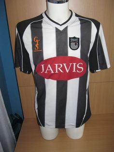 Vintage Grimsby Town FC England Football Shirt Jersey 2003/2004 Home Size XL