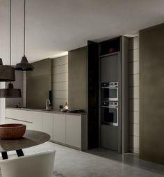 Design Kitchen, Kitchen Interior, Sweet Home, Kitchen Cabinets, Interior Design, Bathroom, Showroom, Wall, Blade