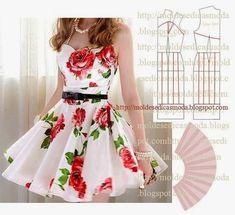 Patrones de vestidos para mujer