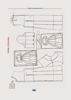 Sewing totarial and dress pattern Sewing Sleeves, Sewing Courses, Modelista, Skirt Patterns Sewing, Pattern Drafting, Fashion Sewing, Skirt Fashion, Couture Fashion, Doll Clothes