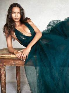 Victoria's Secret Angels Vogue Couture shoot - Patrick Demarchelier - Vogue UK