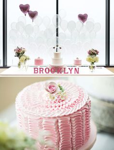 Sweet Heart Themed First Birthday via Hostess With the Mostess