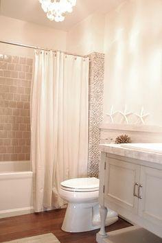 DIY Bathroom Mirror Makeover | ... washroom+white+vanity+chandelier+in+bathroom+diy+bathroom+makeover.bmp