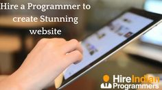Need to create a cutting edge website for your business? Hire a Programmer who is well experienced in web development from HireIndianProgrammers to create a static and dynamic website.