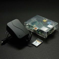 Raspberry Pi Programmers Bundle with Model B Board, Power Supply, Case and Blank SD Card: