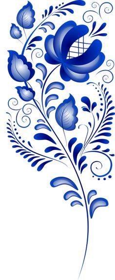 Гжель. Орнамент.. Обсуждение на LiveInternet - Российский Сервис Онлайн-Дневников