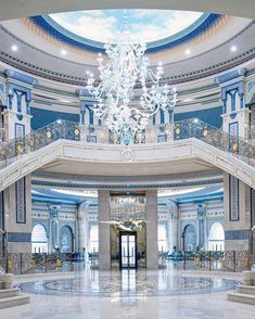 Ascend into Saudi Arabias stratospheric luxury at Ritz Carlton Riyadh set conveniently near the Diplomatic Quarter (think: lush parks and gardens). Check todays lowest prices from up to 200 sites! for The Ritz-Carlton Riyadh on TripAdvisor! Mansion Interior, Luxury Homes Interior, Luxury Home Decor, Interior Design, Dream Home Design, Modern House Design, Dream Mansion, Luxury Homes Dream Houses, Dream House Exterior