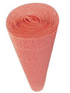 Amazon.com: Italian Crepe Paper roll 180 gram - 583 PEACH SORBET: Arts, Crafts & Sewing