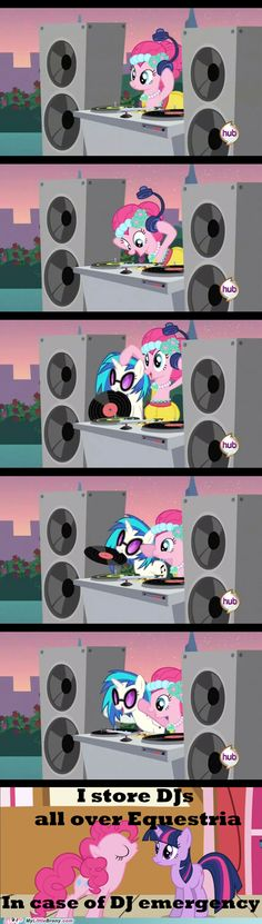 Pinkie is always ready for an emergency