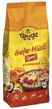 Sklep ze zdrową żywnością bio żywność biotojestto.pl BAUCKHOF bio bezglutenowe muesli owsiane SPORT 425g