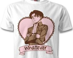 Attack on Titan Sassy Levi Tumblr Style T-shirt