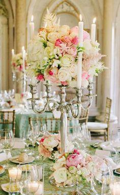 Wedding reception centerpiece idea; Featured Photographer: Studio Webber