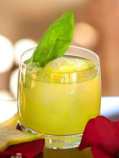16 Sweet Spring Cocktail Recipes: Spring Spice 1½ oz. CÎROC Red Berry ¾ oz. lime juice ½ oz. simple syrup 5 basil leafs 1 jalapeño wheel, sliced 3 dashes celery bitters Garnish: basil leaf  To make simple syrup, mix equal parts hot water and sugar until sugar is dissolved. Muddle basil, jalapeño, and celery bitters in a cocktail shaker. Add remaining ingredients and ice. Shake vigorously and strain into a glass filled with ice. Garnish with a basil leaf.