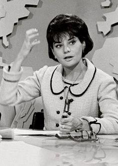 Barbara Walters in 1965. It is hard to believe she is 83 ( born in 1929)!