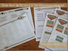 the art & science of keeping house {part 4}