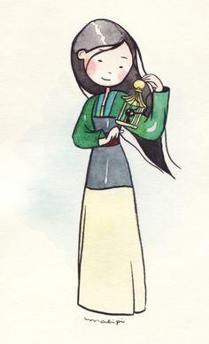 mulan-princesa by malipi