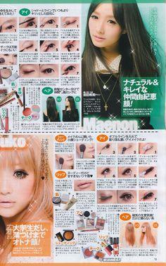 Girls Makeup, Love Makeup, Makeup Inspo, Makeup Inspiration, Makeup Ideas, Gyaru Makeup, Kawaii Makeup, Gyaru Fashion, Kawaii Fashion