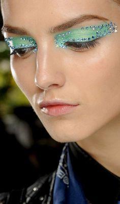 O make da grife Christian Dior na Semana de Moda de Paris.
