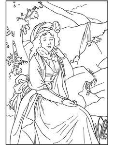 MIA Coloring Book - Portrait of Countess Maria Theresia Bucquoi