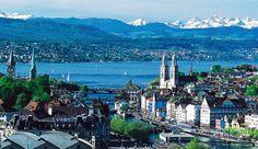 Guide par ville: En visitant Zürich, métropole d'expériences, Alpes enneigées, mélange unique d'attractions, galeries d'art, marques de mode...