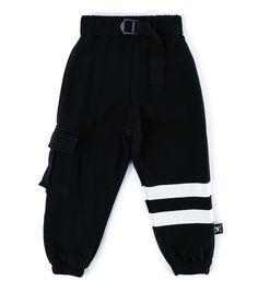 Kids Nununu Cargo Sweatpants - Black on Garmentory Slow Fashion, Kids Fashion, Fashion Outfits, Kids Outfits, Cool Outfits, Amazing Outfits, Baggy Cargo Pants, Soft Pants, Black Joggers