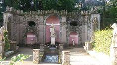 Salzburg, Schloss Hellbrunn mit Wasserspielen