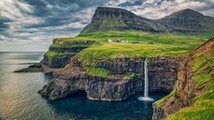 Gásaladur, Islas Feroe