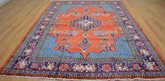 7'6x10'7 Rare Find Genuine S Antique Persian Wiss Sarouk Handmade Wool Area Rug #Persian