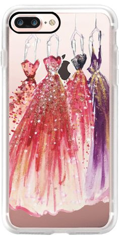 Casetify iPhone 7 Plus Case and other Red Carpet iPhone Covers - Dress Up by Yinling Chang   Casetify