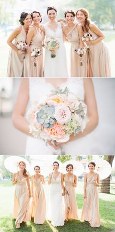 Love the Allure 8634 dress, the bouquets, and the bridesmaids dresses. The books on the centerpieces are really cool, too!