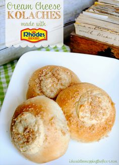 Cream Cheese Kolaches » The official blog of America's favorite frozen dough