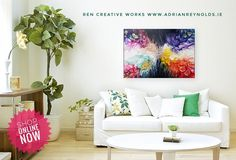 Be original. Buy Original. Picture Hangers, Painting Edges, Creative Words, Special Gifts, New York City, Original Artwork, Beautiful Homes, Colours, New York