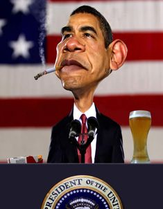 what's wrong with this picture?        obama would never smoke Marlboro Reds!!!