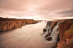 Photograph Icelandia by Dean Blazic on Iceland, Dean, Waterfall, Country Roads, Photograph, Outdoor, Beautiful, Ice Land, Photography
