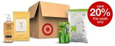 Target Online: Additional Savings for All Subscribe & Save Items 20% Off + Free Shipping (+ 5% Off w/ Target REDcard)