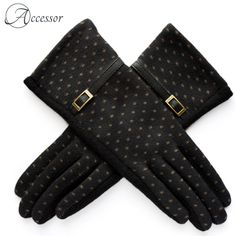A stunning pair of gloves can complement your entire look. While these trendy dots printed gloves will make you stand out in style. Cashmere Gloves, Gloves Fashion, Blue Wool, Mitten Gloves, Dots, Pairs, Printed, Accessories, Free Shipping