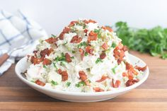 Turn a bag of store-bought slaw mix into an irresistible summer side dish with a homemade blue cheese and bacon dressing that only takes a few minutes. Best Coleslaw Recipe, Vegan Coleslaw, Salads Without Lettuce, Blue Cheese Coleslaw, Barbecue Pulled Pork, Bbq, Summer Side Dishes, Summer Salads, Summer Recipes