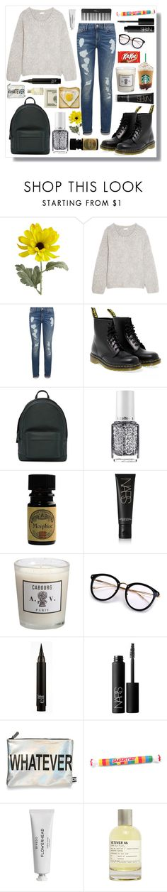 """Untitled #97"" by dancewithshira ❤ liked on Polyvore featuring Pier 1 Imports, Chloé, Tommy Hilfiger, Dr. Martens, PB 0110, Essie, NARS Cosmetics, Astier de Villatte, Circus by Sam Edelman and Sephora Collection"