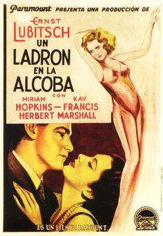Un ladrón en la alcoba (1932) EEUU. Dir: Ernst Lubitsch. Comedia. Romance - DVD CINE 2458