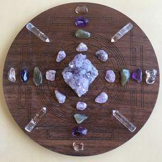 Crystals Minerals, Rocks And Minerals, Crystals And Gemstones, Stones And Crystals, Gem Stones, Magick, Witchcraft, Wiccan, Meditation Corner