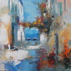 Painting, Oil by Benoit Havard (France) via Galerie D'art En Ligne, Benoit, Art Original, Western Art, Abstract Expressionism, Art World, Art Boards, Oil On Canvas, Art Gallery